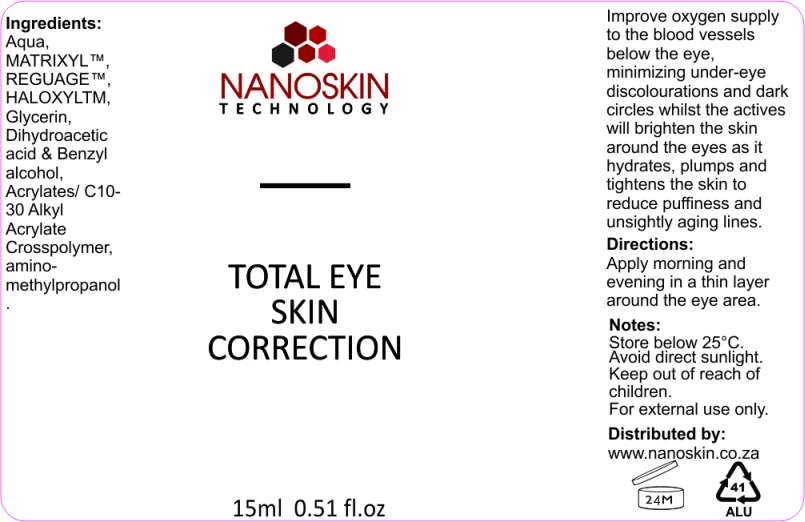 total eye skin corector 16